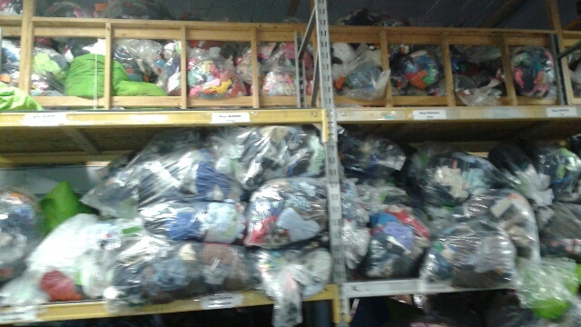 Bags of Clothes. Cradles to Crayons.jpg